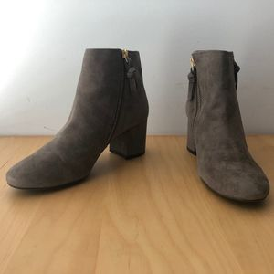 Cole Haan Suede Ankle Boots (fits like a 6)